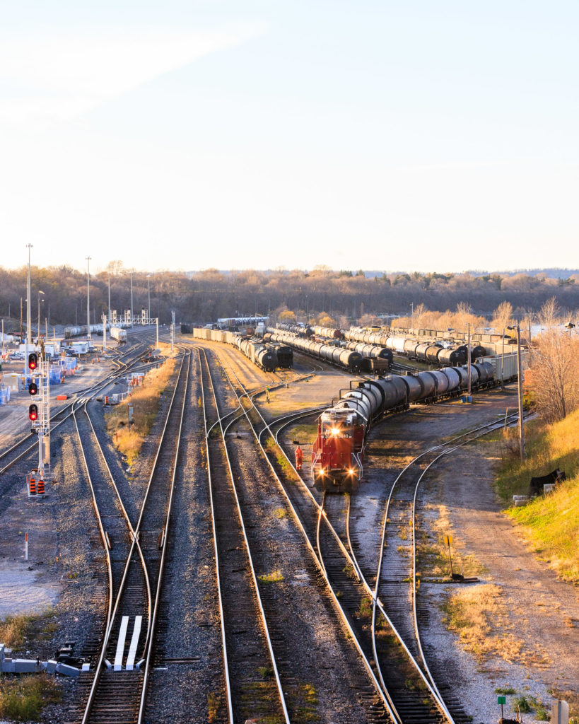 Rail Growth on Track