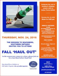 Mission to Seafarers Fall Fundraiser