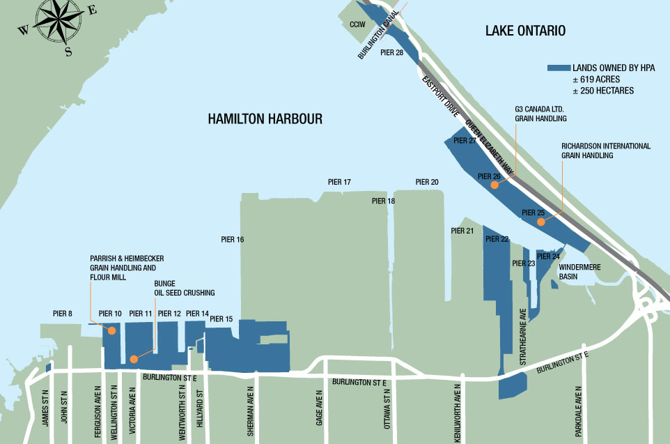 grain terminals map hamilton
