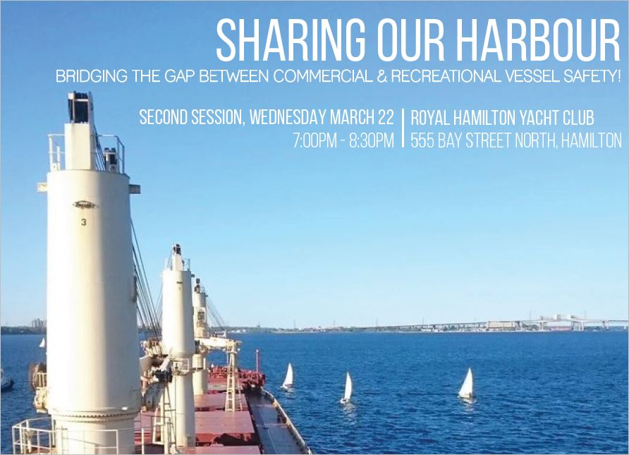 Sharing Our Harbour Info Session #2 – March 22
