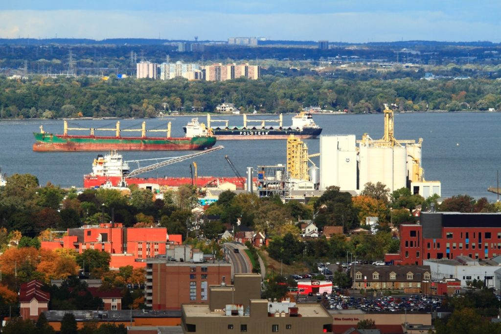 Exports drive banner season at Port of Hamilton