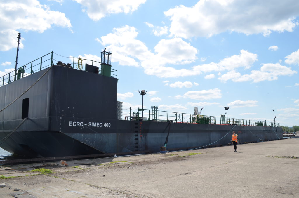 New, State-of-the-Art ECRC Spill Response Barge Stationed at the Port of Hamilton