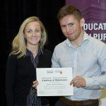 Owen receiving scholarship