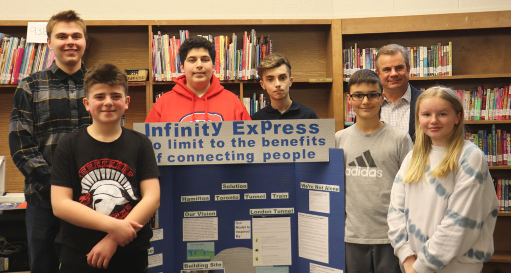 Stoney Creek Students Prepare to Present Underwater Hamilton-Toronto Train Tunnel at Robotics Competition