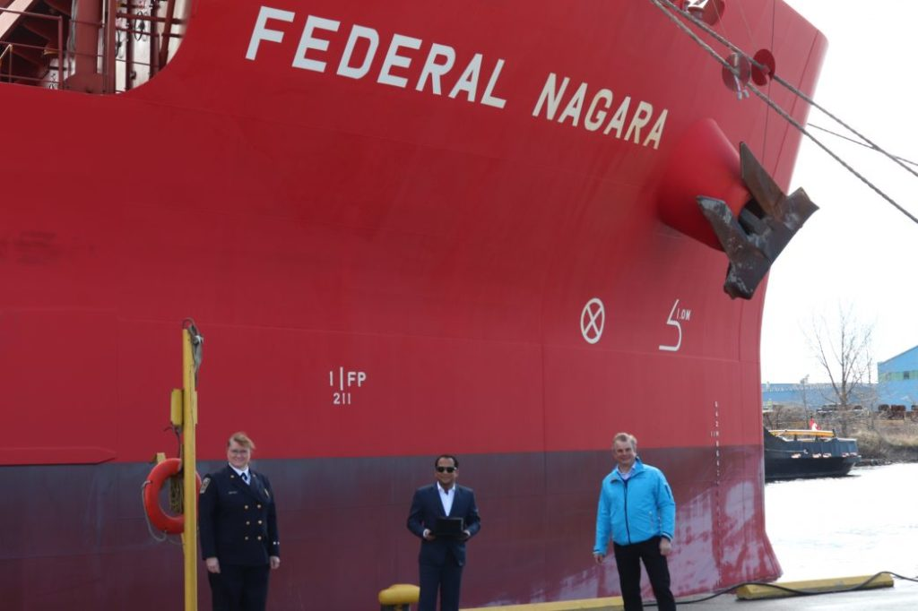 First Vessel & Unique Start to 2020 Shipping Season at Port of Hamilton