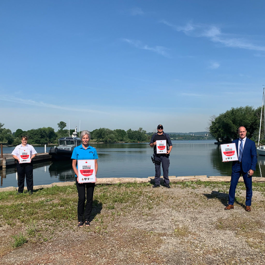 Crime Stoppers of Hamilton is 'On the Water'