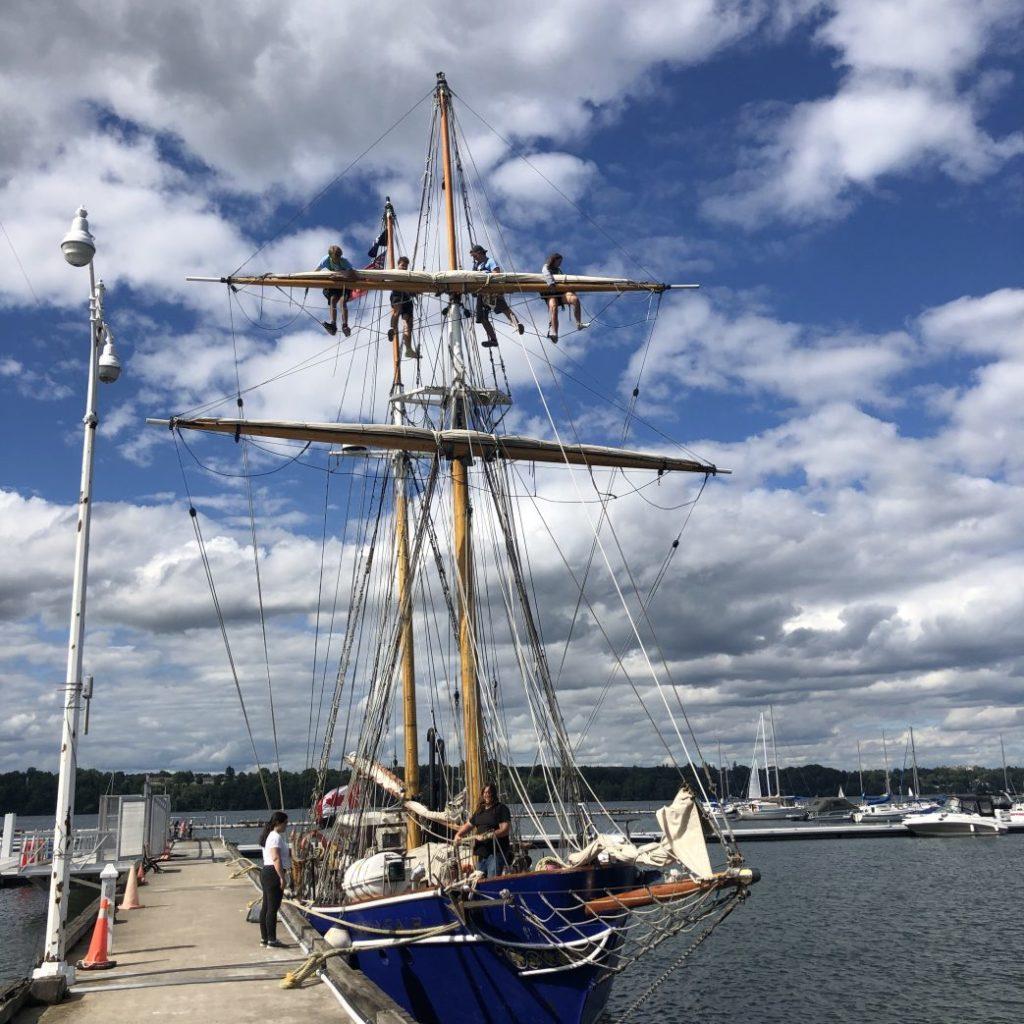 Tall Ship TS Playfair Coming to Hamilton Harbour