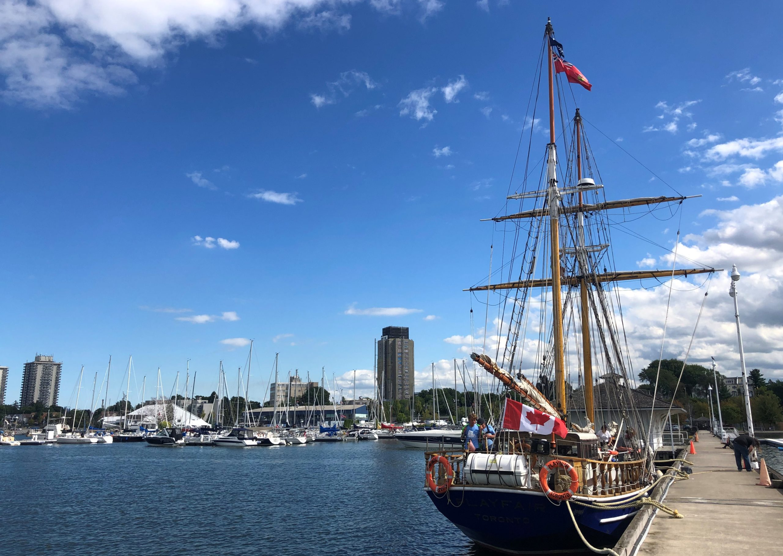 Tall Ship TS Playfair Coming to Hamilton Harbour