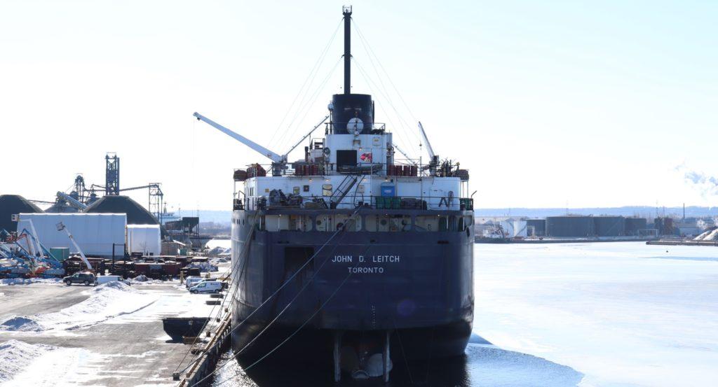 Lay Up Season Draws to a Close at Hamilton Port