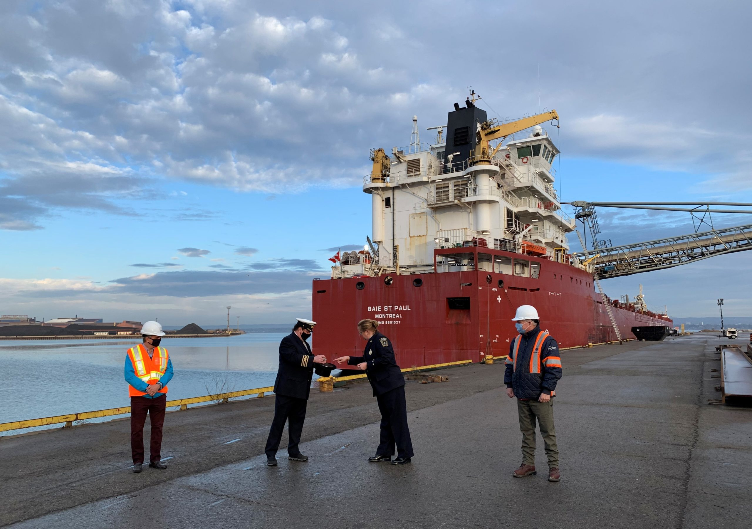First Vessel Arrives at the Port of Hamilton, Kicking Off the 2021 Shipping Season