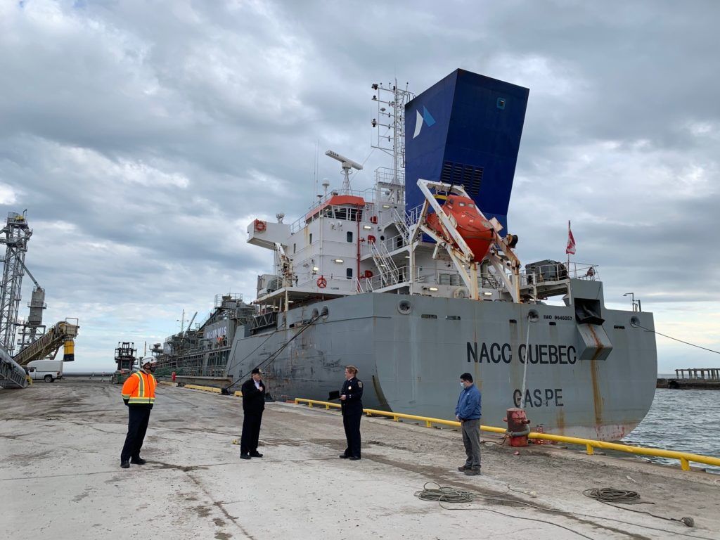 First Vessel Arrives at the Port of Oshawa, Kicking Off the 2021 Shipping Season
