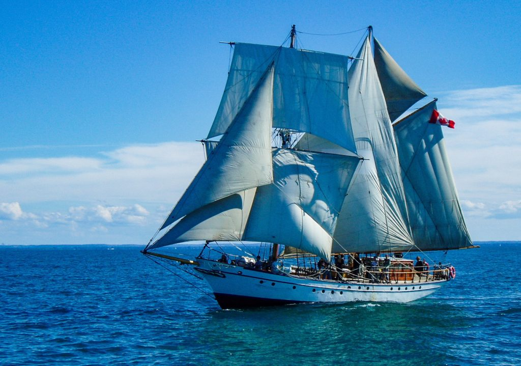 STV Pathfinder Returns to Sail Training in Hamilton Harbour Thanks to Breakwater Investments
